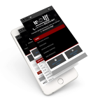 Responsive eCommerce website on a mobile device - ECommerce website - Web Outsourcing